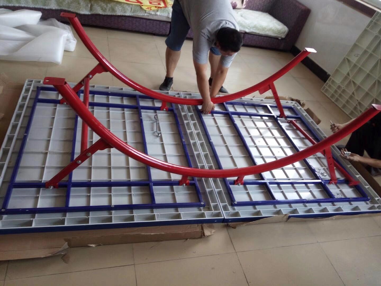 乒乓球台组装